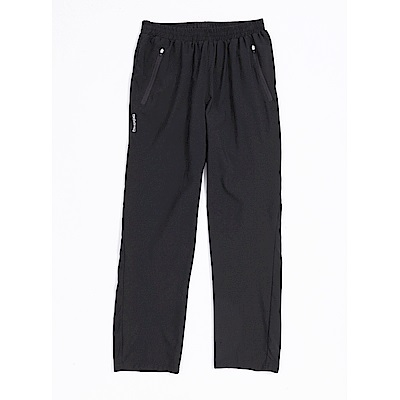 KAPPA義大利男吸濕排汗速乾單層風褲(前半網布內裡)~黑
