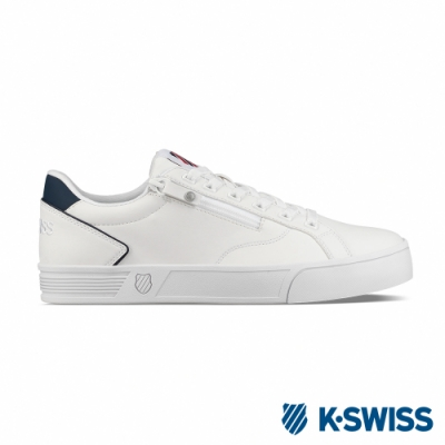 K-SWISS Court Lite Zipper S休閒運動鞋-男-白