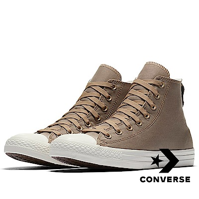 CONVERSE-All Star HI 男休閒鞋-咖啡