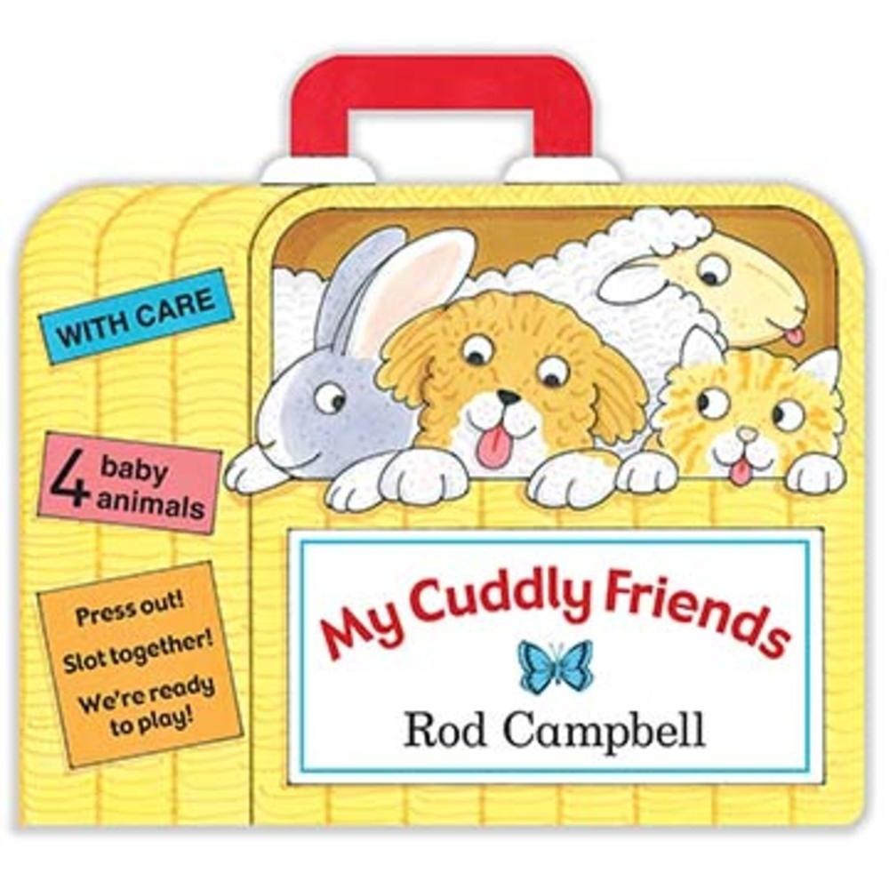 My Cuddly Friends 我的毛朋友們手提硬頁書