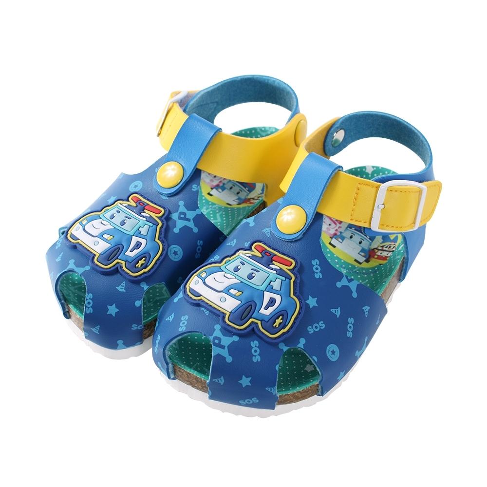 男童台灣製POLI波力款休閒涼鞋 sa91146 魔法Baby