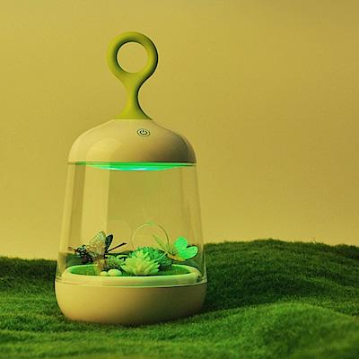 半島良品 超療癒微景觀植物小夜燈-蝴蝶