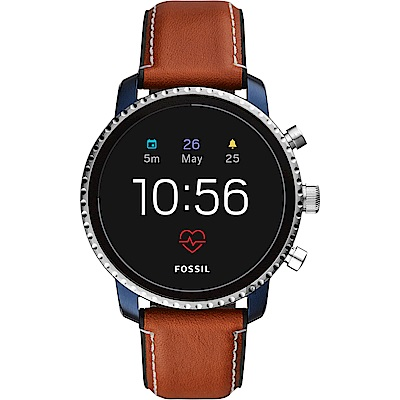 Fossil Q Explorist 第四代觸控智能手錶-45mm FTW4016