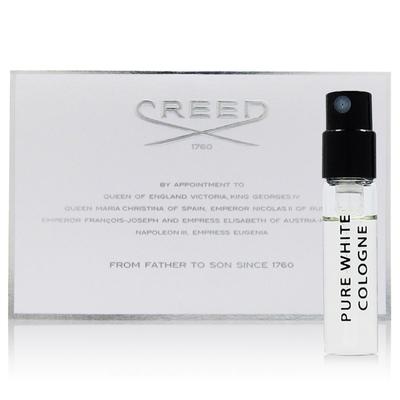 CREED PURE WHITE COLOGNE 白霓翩翩 中性淡香精 2ml 商品效期: 2022.01