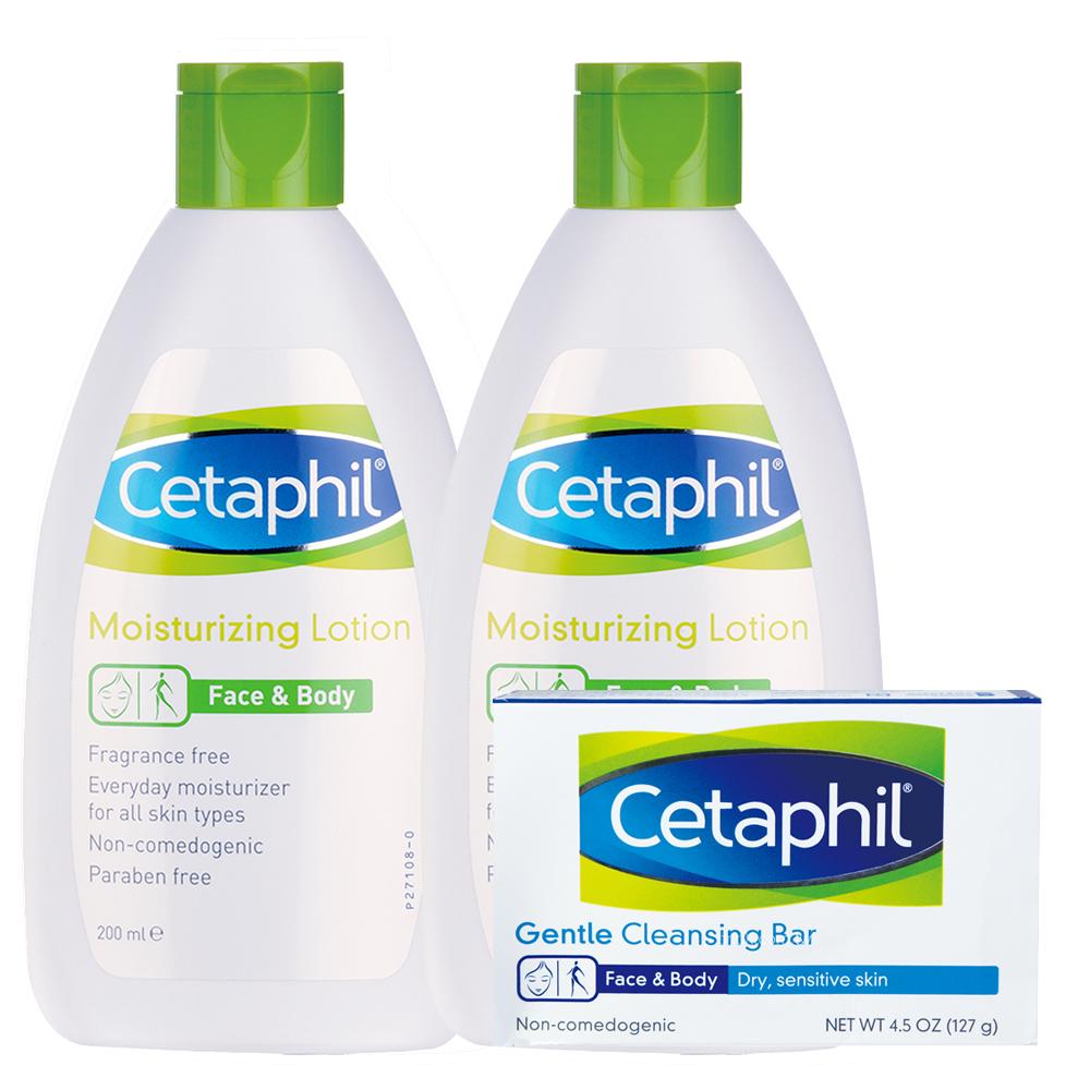 Cetaphil舒特膚 長效潤膚乳200ml(2入加贈組)