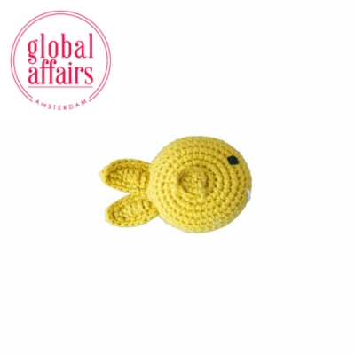 global affairs 童話手工編織安撫搖鈴_海洋系列(熱帶小魚)