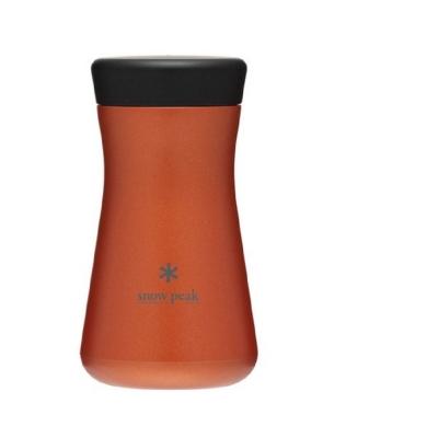 Snow Peak 不鏽鋼真空保溫瓶 紅 TW-350OR
