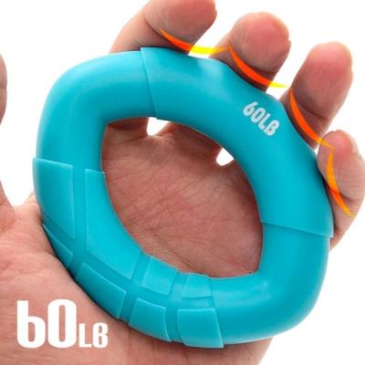 60LB矽膠握力器  橢圓握力圈  握力環