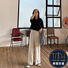 韓國空運 舒適棉質寬褲-2色-TMH