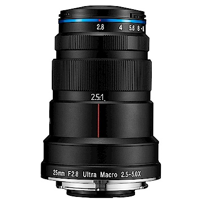 老蛙 LAOWA 25mm F2.8 Ultra Macro 2.5-5X 微距鏡頭(公司貨)