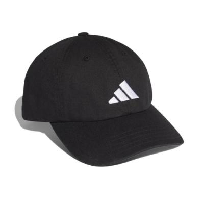 adidas 帽子 Athletics Pack Dad Cap 愛迪達 棒球帽 遮陽 基本 穿搭 帽圍可調 黑 白 FK4419