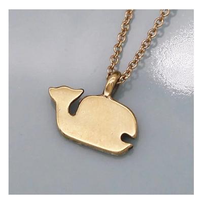 Dogeared 美國品牌Reminder金色許願項鍊-鯨魚