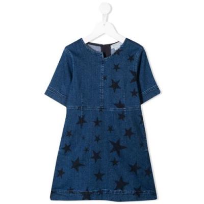 Stella McCartney 星星印花牛仔連衣裙