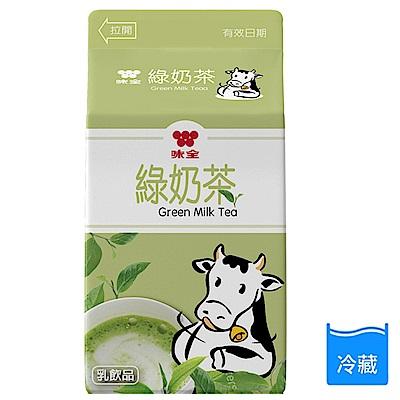 味全 綠奶茶375ml*6瓶