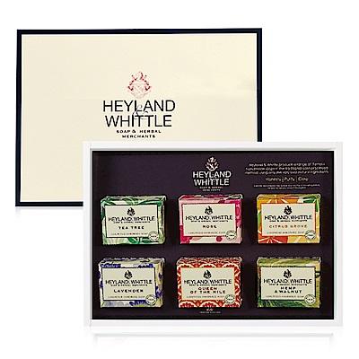 H&W英倫薇朵 英倫經典手工皂禮盒 彩裝限定版(附提袋)