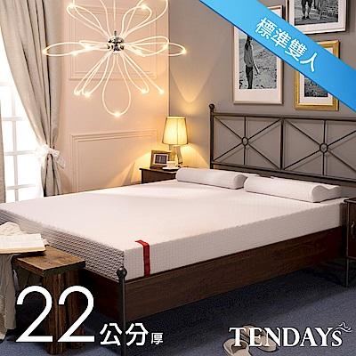 TENDAYS 柔織舒壓床墊 雙人5尺 22cm厚