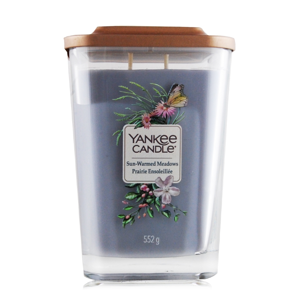 YANKEE CANDLE香氛蠟燭-曬後的草地 Sun-Warmed Meadows 552g-方瓶