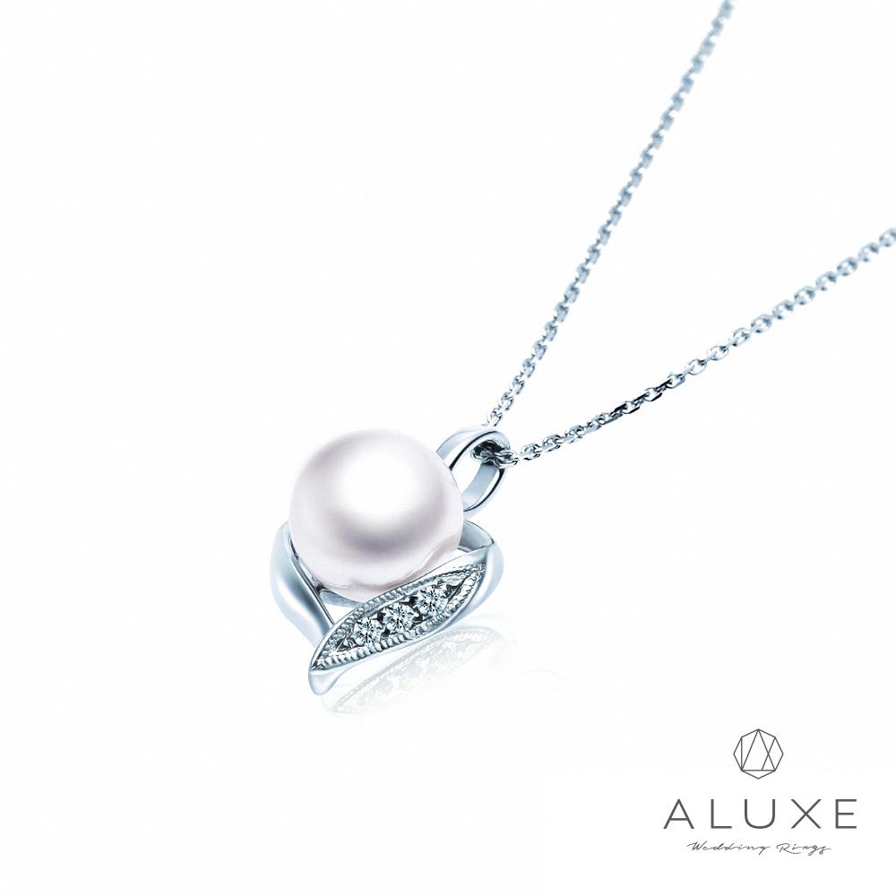 A-LUXE 亞立詩 寵愛系列7-7.6mm 天然淡水養珠珍珠項鍊