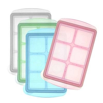 【麗嬰房】韓國 JM Green 新鮮凍副食品冷凍儲存分裝盒L (45g) /單入裝(顏色隨機出貨)