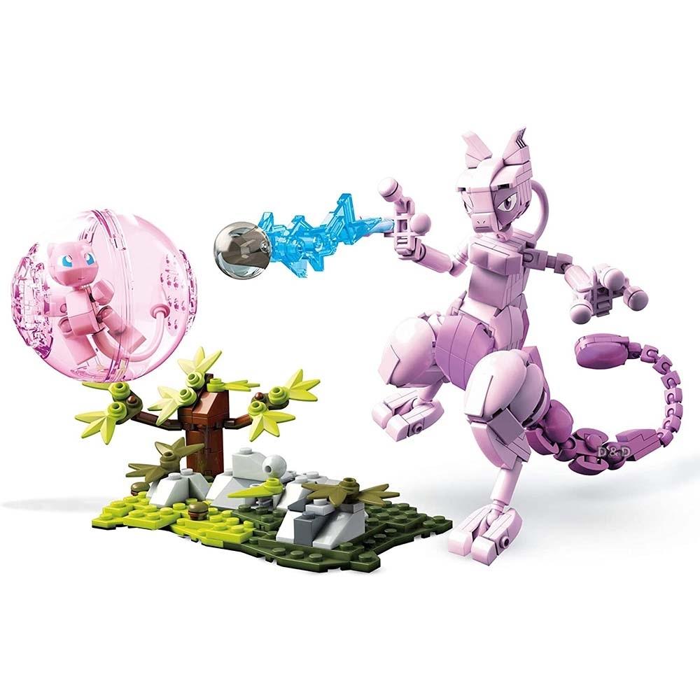 Mega美高創建 - 寵物小精靈 夢幻與超夢格鬥組