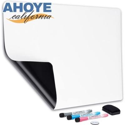 Ahoye A3冰箱磁性小白板 軟白板