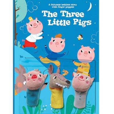 The Three Little Pigs 睡前故事:三隻小豬指偶書