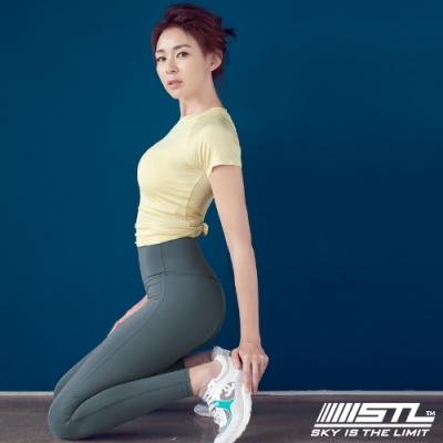 STL Yoga Pure Leggings 9 韓國瑜珈『超高腰』運動機能 快速排汗 專業訓練長 緊身/壓力褲 純粹暮 Magic Light Quick Dry