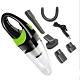 USB無線手持吸塵器 車用吸塵器手持吸塵器 小型吸塵器白綠色 product thumbnail 1