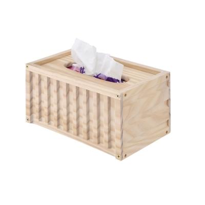 莫菲思 洋亦居家貨櫃造型面紙收納盒/紙巾盒