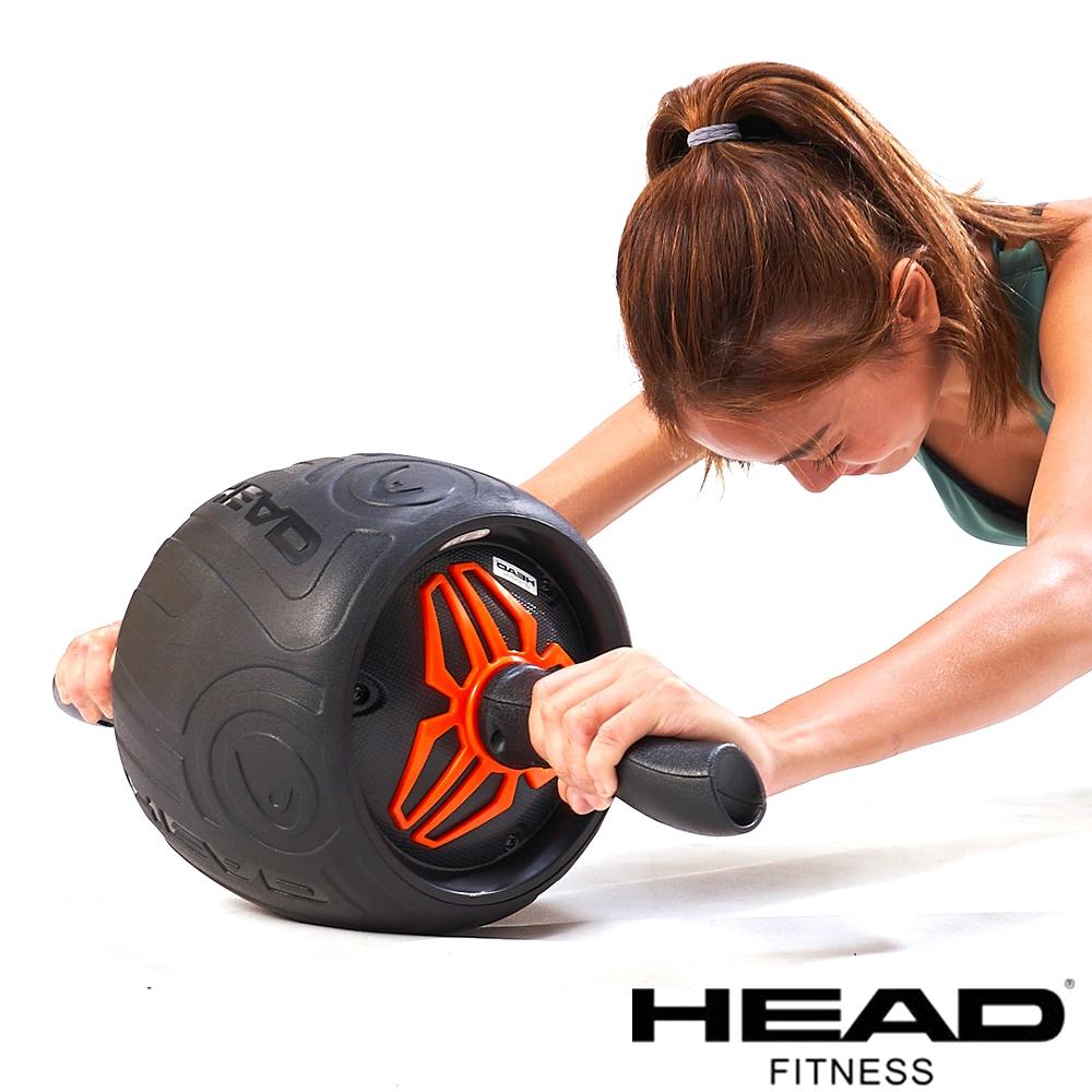 HEAD 專業迴力健腹輪/加大輪徑24cm