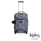 Kipling 奇幻藍羽斑紋21吋舒適提把實用登機箱-DARCEY