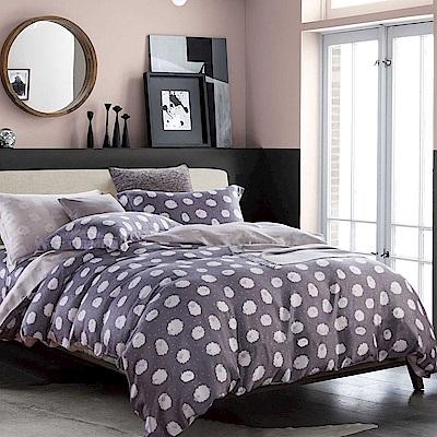 岱思夢 加大100%天絲床包枕套三件組 綿綿-灰