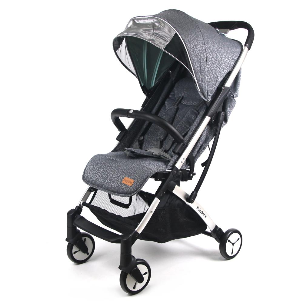 BabyBabe 嬰幼兒登機推車-太空灰