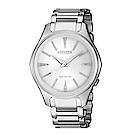 CITIZEN LADYS優雅俐落光動能時尚腕錶(EM0597-80A)