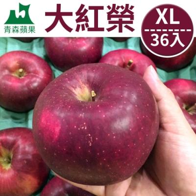 [甜露露]青森蘋果大紅榮XL 36入(10.5kg)