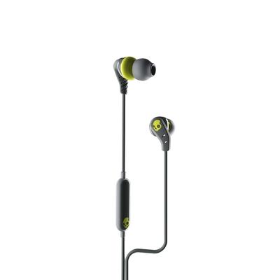 Skullcandy 骷髏糖 SET有線-USBC  入耳式耳機(灰+黃) (128B)S2SXY-P753