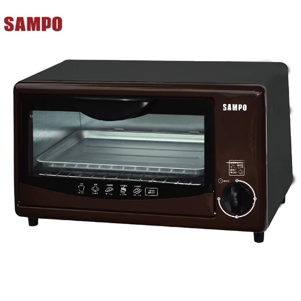 SAMPO聲寶8L電烤箱 KZ-SJ08
