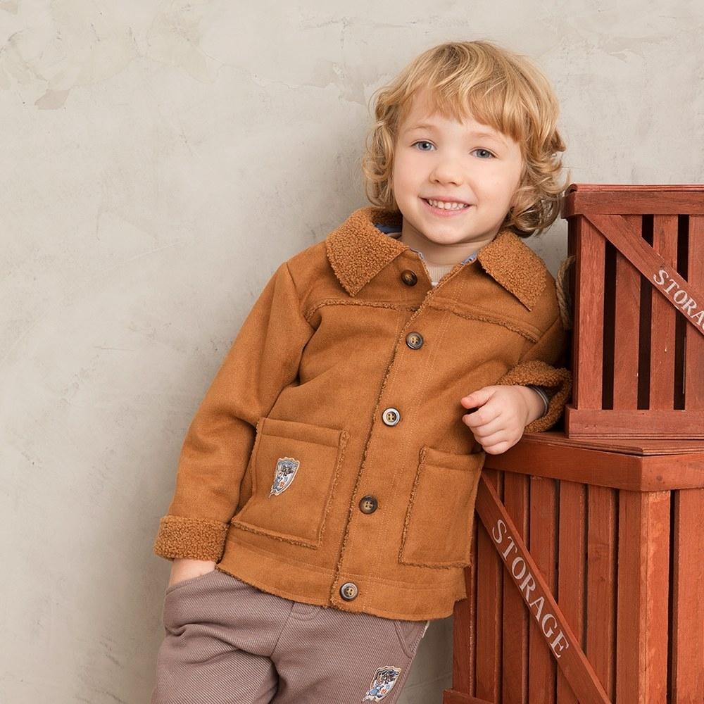 奇哥 酷勁比得帥氣保暖外套(2-4歲)