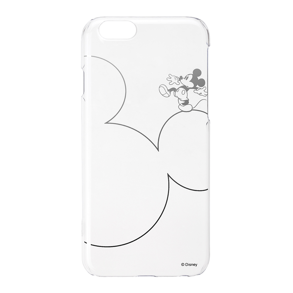 PGA iPhone 6S/6 4.7吋 迪士尼 米奇大頭 銀箔透明 手機殼