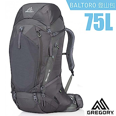 美國 GREGORY 新款 Baltoro 75 專業健行登山背包M_瑪瑙黑