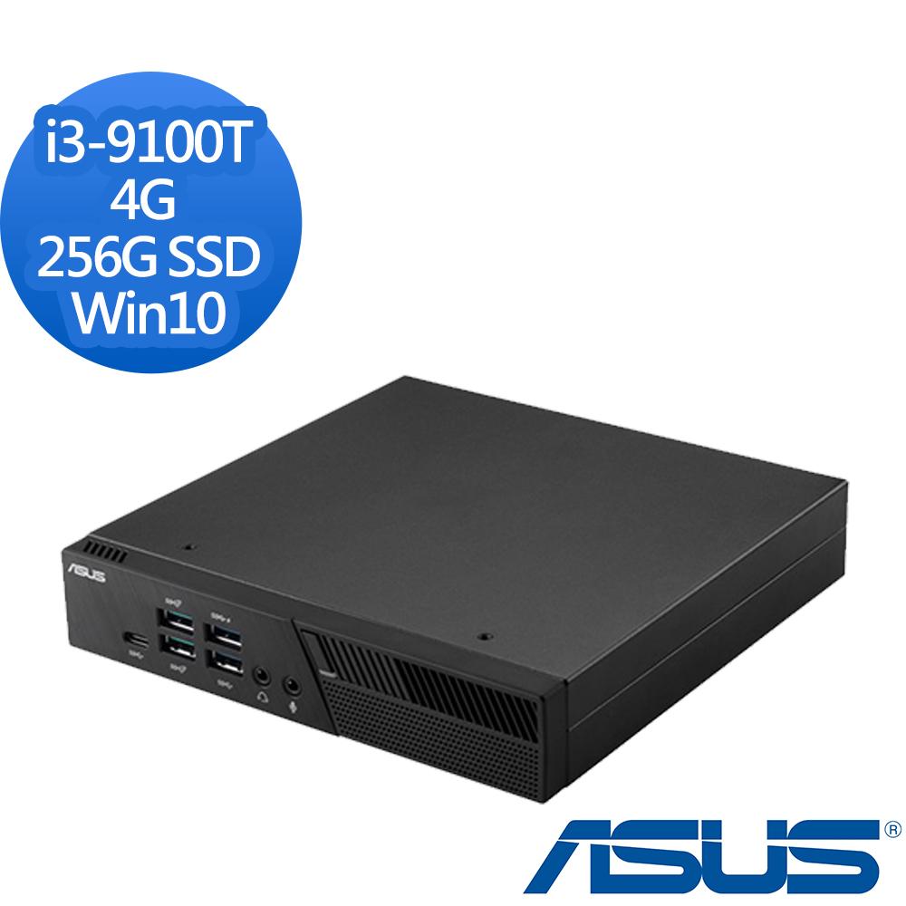 ASUS 華碩 PB60-91TY2TA i3-9100T四核心/4G/256G SSD/Win10 迷你電腦