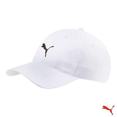 PUMA GOLF 經典款可調式棒球帽 白 021431 06 OSFA