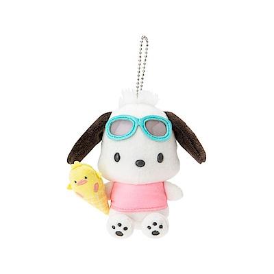 Sanrio SANRIO明星夏日假期系列造型玩偶吊鍊(帕恰狗)
