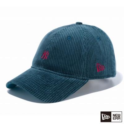 NEW ERA 9THIRTY 930 燈心絨 MINI LOGO NY 藍靛/紅 棒球帽