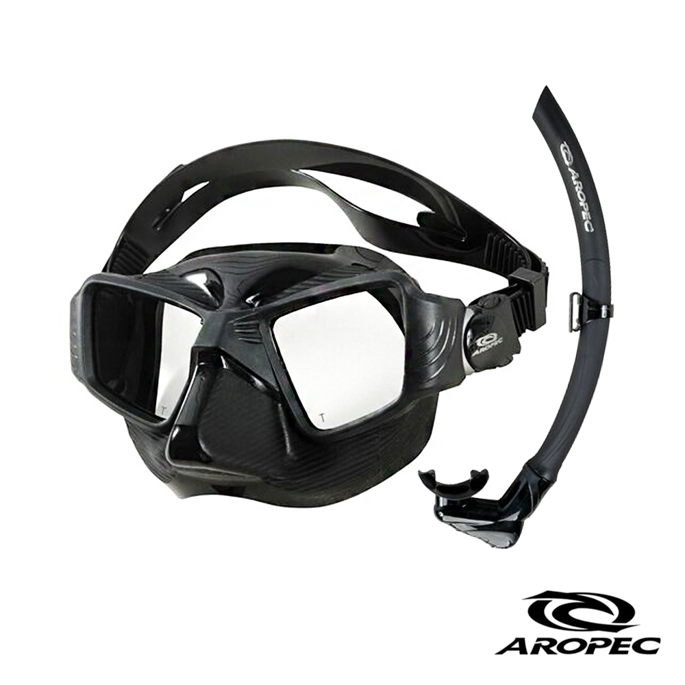 AROPEC Sniper 低容積雙面鏡潛水精品組