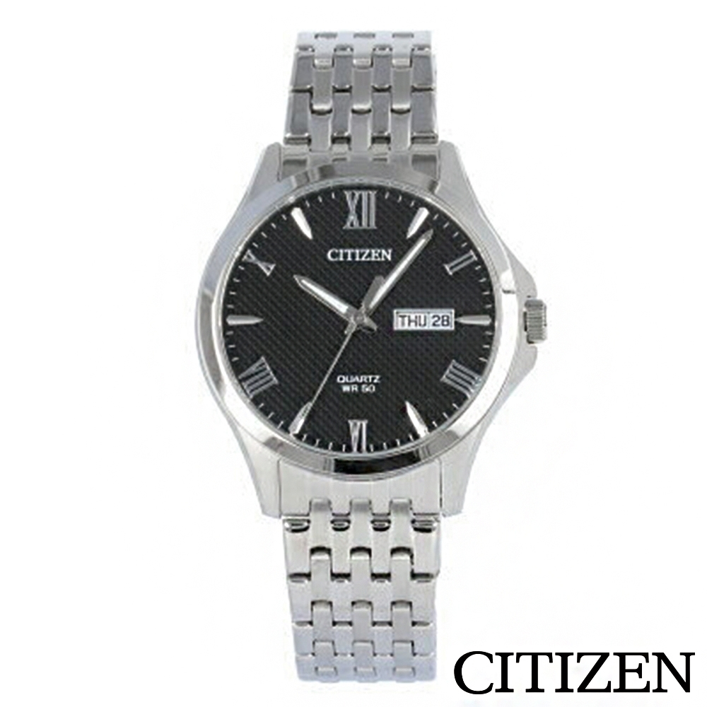 【CITIZEN星辰】不銹鋼男士手錶-BF2020-51E