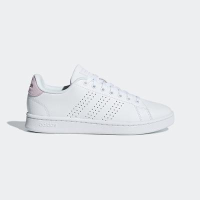 adidas 休閒鞋 小白鞋 運動鞋 女鞋 白粉 F36481 ADVANTAGE