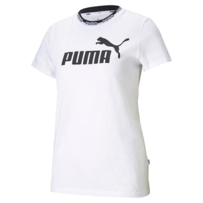 【PUMA官方旗艦】基本系列Amplified短袖T恤 女性 58590202