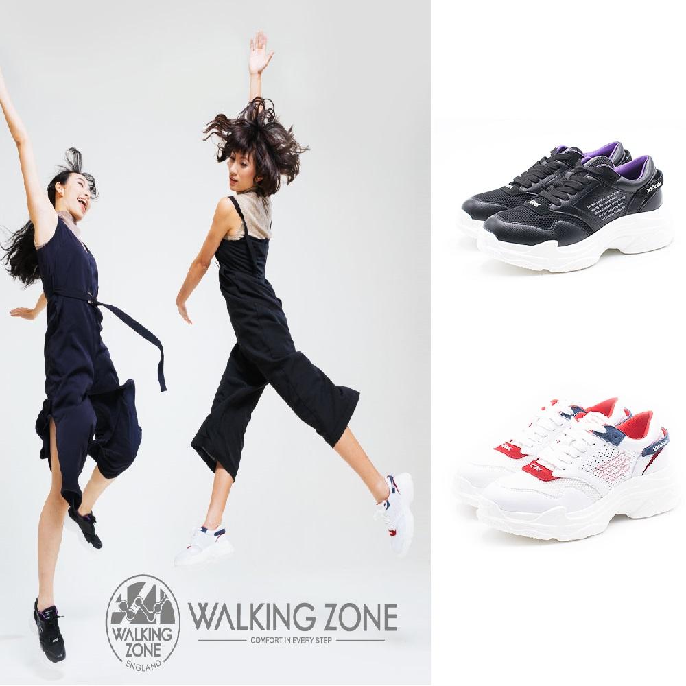 WALKING ZONE 運動休閒厚底老爹鞋 女鞋