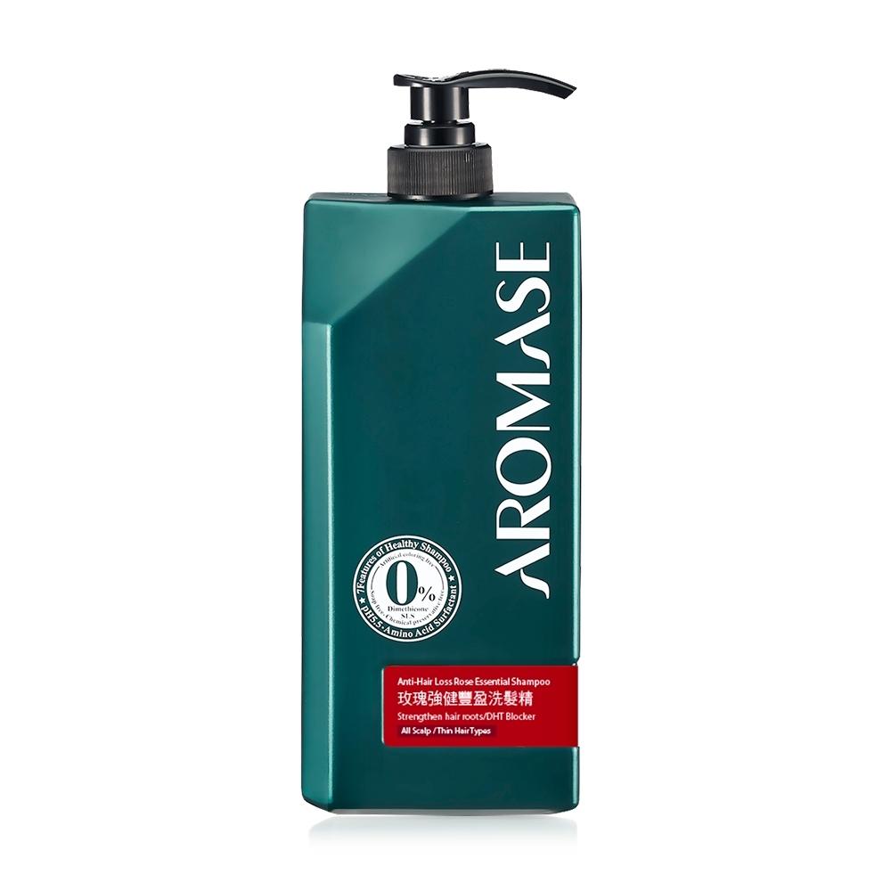 AROMASE艾瑪絲 玫瑰強健豐盈洗髮精-1000ml